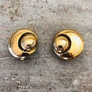 ♥️ Givenchy ♥️ Vintage Gold Clip Earrings